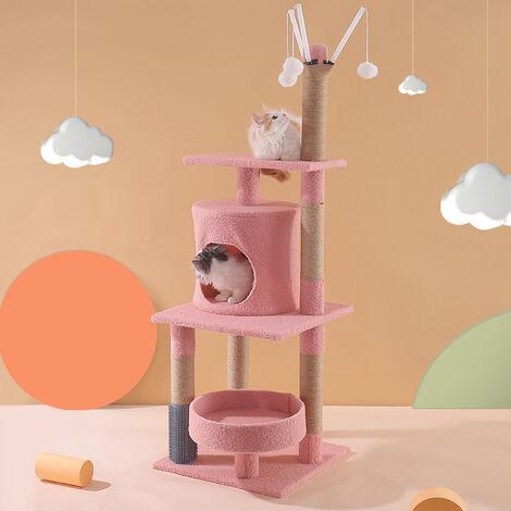 Cadre d'escalade pour chat, litière pour chat, arbre à chat, poteau à gratter pour chat, jouet pour chat, fournitures pour chat C