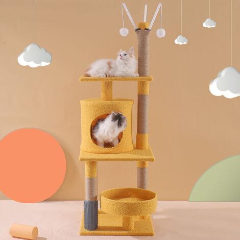 Cadre d'escalade pour chat, litière pour chat, arbre à chat, poteau à gratter pour chat, jouet pour chat, fournitures pour chat D