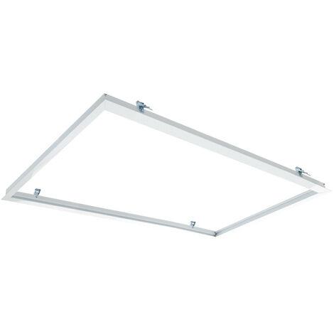 Cadre Encastré pour Panneaux LED 120x60cm Blanc - Blanc