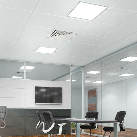 Cadre Encastré pour Panneaux LED 30x30cm Blanc - Blanc