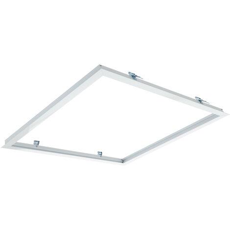 Cadre Encastré pour Panneaux LED 60x60cm Blanc - Blanc