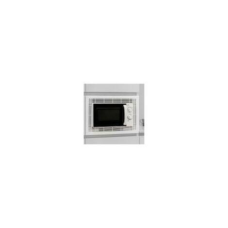 Cadre micro-ondes module 600 mm Plastique Aluminium EMUCA 8061525