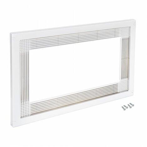 Cadre micro-ondes module 600 mm Plastique Blanc EMUCA 8061515