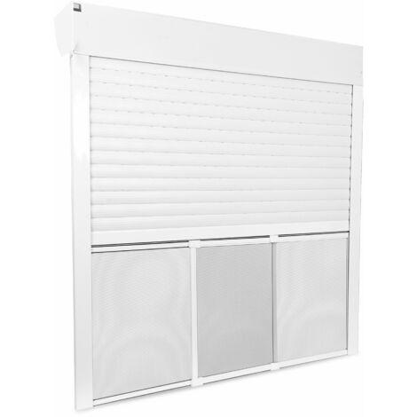 Cadre moustiquaire pour volet roulant sans perçage - Arrivage - Blanc