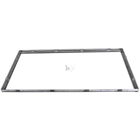 Cadre pour grille caillebotis standard galvanisé 1000x500x25mm