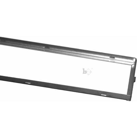 Cadre pour grille caillebotis standard pour le garage 250x1000x30mm