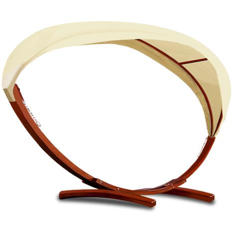 cadre pour hamac en bois avec toit support hamac lit. Black Bedroom Furniture Sets. Home Design Ideas