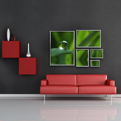 Cadre pour Photos ou Dessins en Aluminium Structure Légere Décor