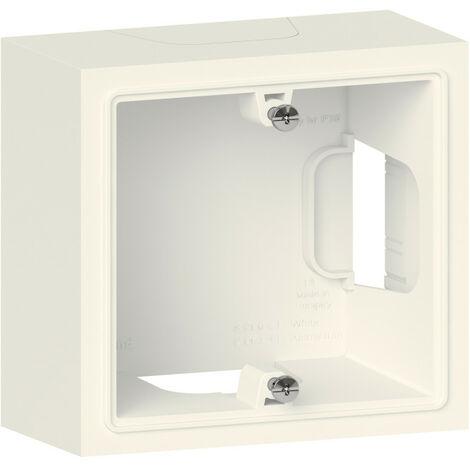Cadre saillie 1 poste dooxie finition blanc (600041)