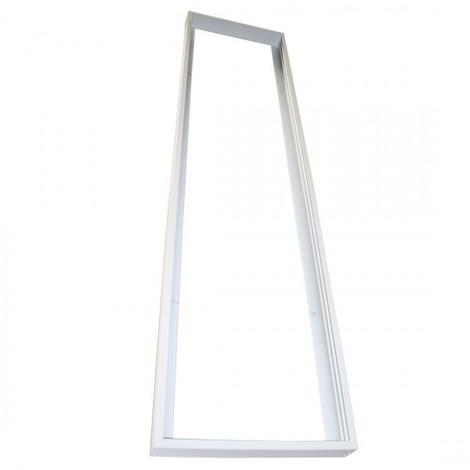 Cadre saillie à monter pour dalle led Blanc 1200 x 300 mm