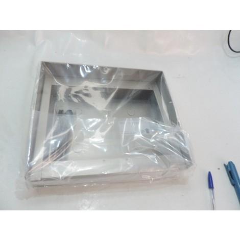 Cadre saillie alu à visiere 290X243X65mm pour 2 platines GF2F ou GF2B (120034) AIPHONE GF202HB