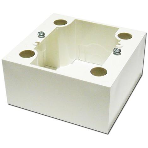 Cadre saillie blanc 1 poste prof 40mm pour pose apparente appareillage mural AE ALTERNATIVE ELEC AE51010