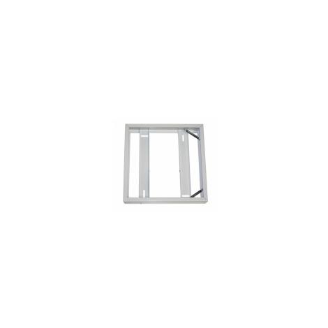Cadre Saillie Blanc Pour Dalle LED 30x30 Fs CLAREO