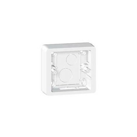 Cadre saillie Céliane - 1 poste - Hauteur adapt. 30/40 mm - Blanc - Legrand