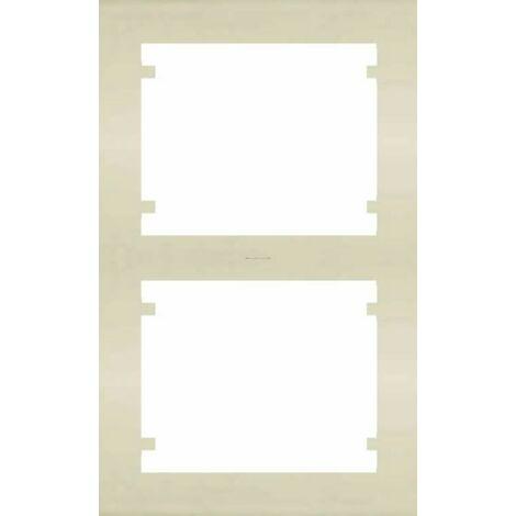Cadre vertical à 2 éléments BEIGE BJC IRIS 18102-A