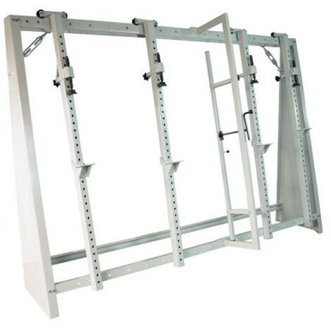 Cadreuse à serrage mécanique avec presse à cadre 4 vérins - 2 500 x 1 500 mm - -