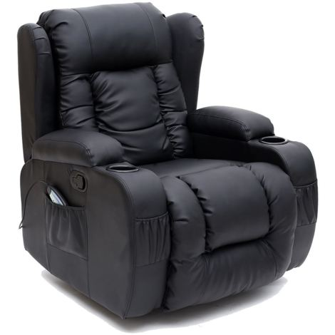 """main image of """"CAESAR LEATHER RECLINER CHAIR - different colors available"""""""