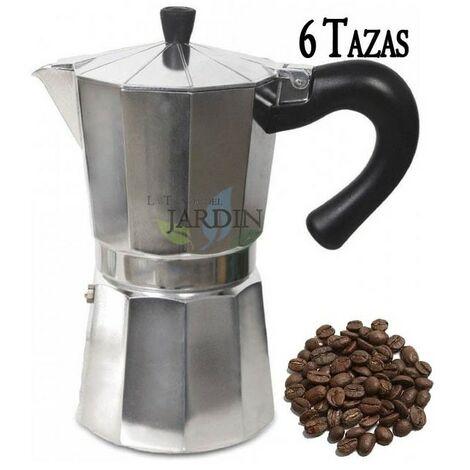 Cafetera clásica de inducción 6 tazas