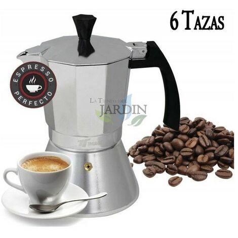 Cafetera de inducción 6 tazas