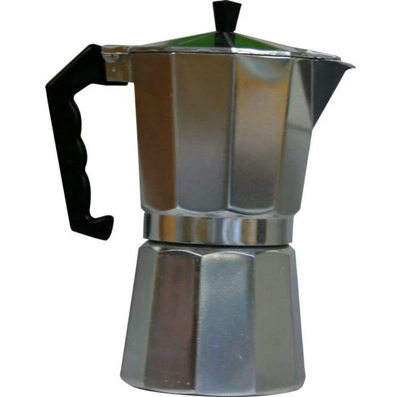 Cafetera Italiana 06Tz Me Aluminio Tabi - Vivahogar