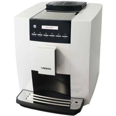 Cafetière automatique Viesta CB300S machine à café - machine à café particulièrement performant (1,8 litre, 19 bar, 1400 Watt, interfaceutilisateur LCD) - machine à café Modèle 2017 entièrement automatique