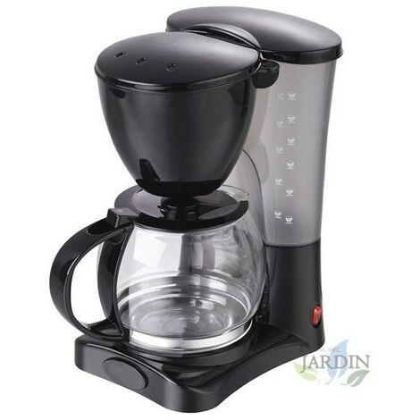 Cafetière goutte à goutte 1,2 litre, 10-12 tasses 800W