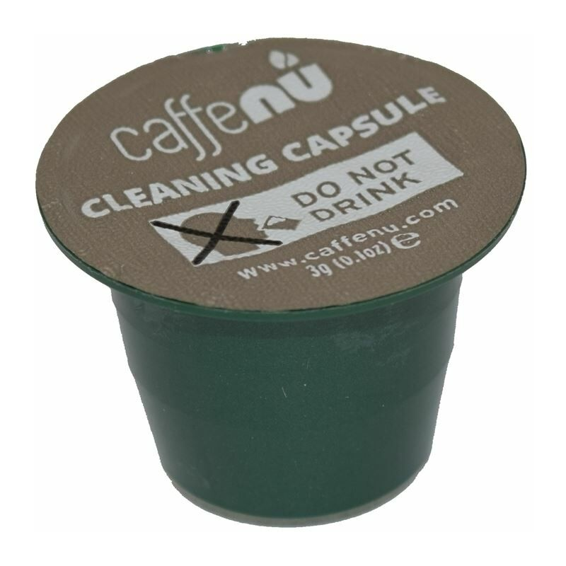 Image of Caffe Nu Nespresso Coffee Machine Eco Formula Cleaning Pod Capsules Pack of 5