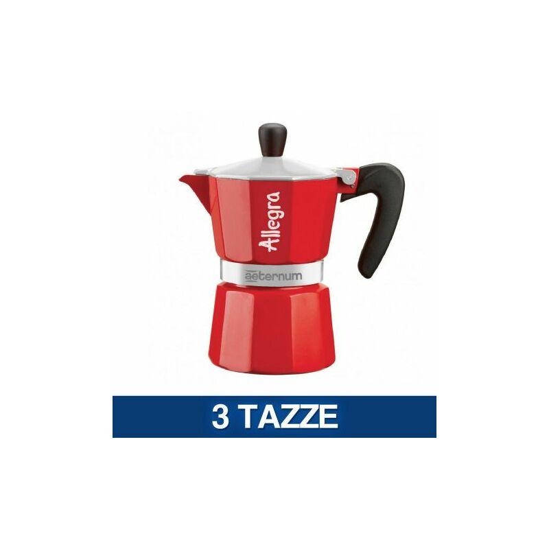 Image of Caffettiera Moka Bialetti Espresso Aeternum Elegance Allegra 1 3 Tazze (51448V) 3 Tazze (51983)