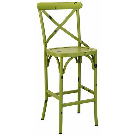 Cafron Bar Stool - Vintage Green