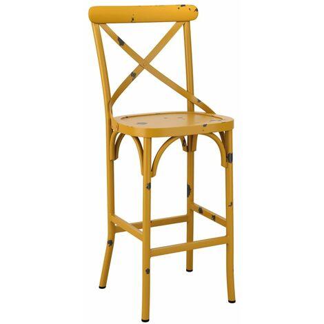 Cafron Bar Stool - Yellow
