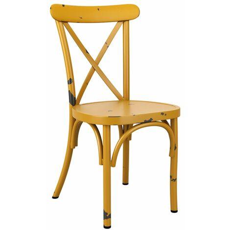 Cafron Chair - Yellow
