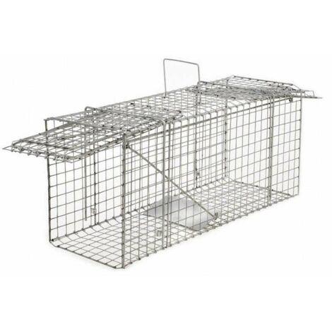Cage à nuisibles double entrée grand modèle