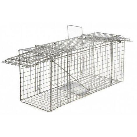 Cage à nuisibles double entrée petit modèle