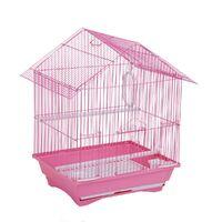 Cage à oiseaux en fer Rose