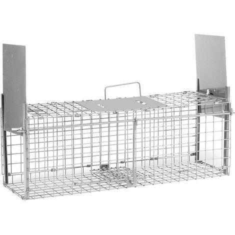 Cage à rat 2 portes 20 x 61 x 24,5 cm