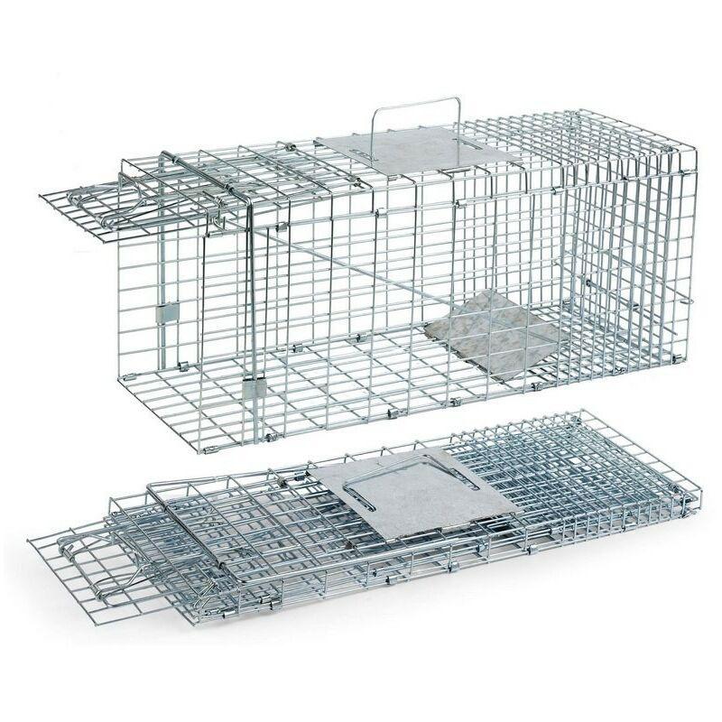 Cage capture les rongeurs et les chats 29 x 79 x 32 cm