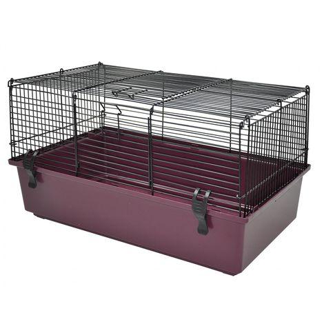 Cage cobaye chrome/ass.58x36x30cm