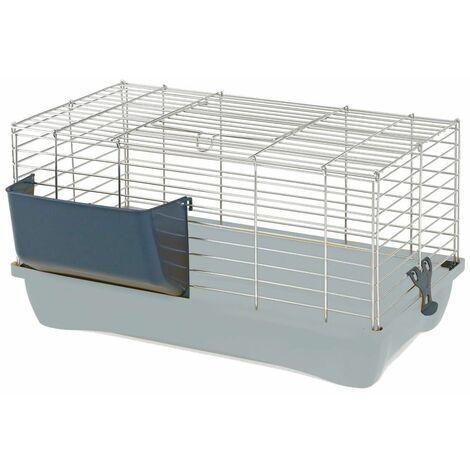 Cage cobaye felix 60 gris 58x32x31cm