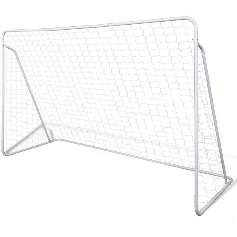 Cage de but de football 240 x 90 x 150 cm Acier