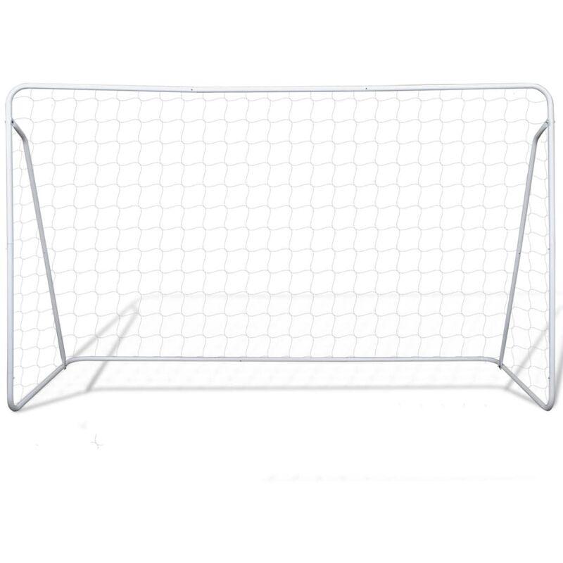 c3d743cd30a00 Cage de but de football 240 x 90 x 150 cm Acier - 90572