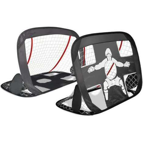 Cage de foot portable Lot 2 pcs POP UP