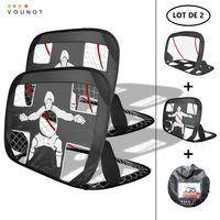 Cage de foot portable Lot 2 pcs POP UP