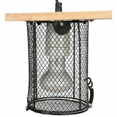 Cage de protection pour lampes terrarium,