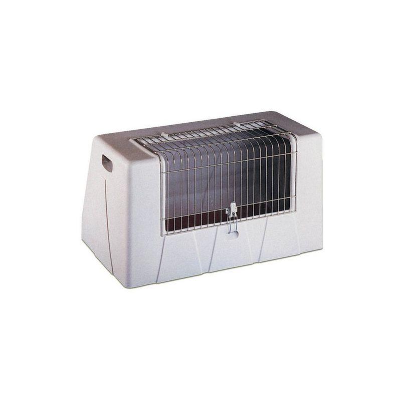 Cage de transport Autobox plastique - Simple Désignation : Cage de transport Autobox plastique - Simple | Profondeur : 52 cm | Largeur : Cage de