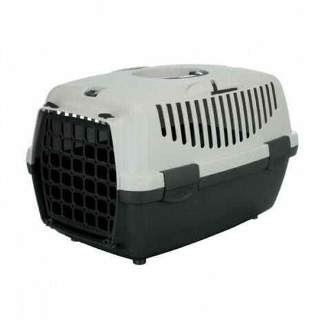 """main image of """"Cage de transport Capri gris Friends on tour pour chiens et chats Taille 1 Longueur 48 cm Largeur 32 cm Hauteur 31 cm"""""""