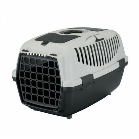 """main image of """"Cage de transport Capri gris Friends on tour pour chiens et chats Taille 2 Longueur 55 cm Largeur 37 cm Hauteur 34 cm"""""""