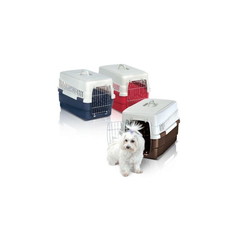 Cage de transport Carry 60 pour chien ou chat Désignation : Cage de transport Carry | Taille : 60 x 40 x 40 cm MORIN 80296