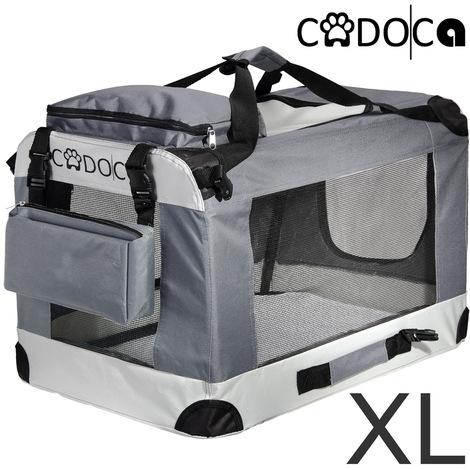 Cage de transport pliable pour chiens chats animaux CADOCA Taille XL boite box