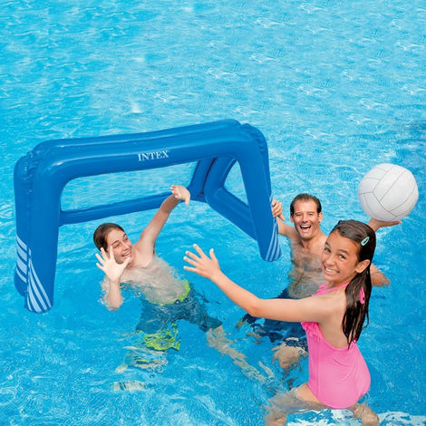 Cage de water polo flottante Intex