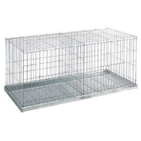 Cage d'exposition 2 compartiments